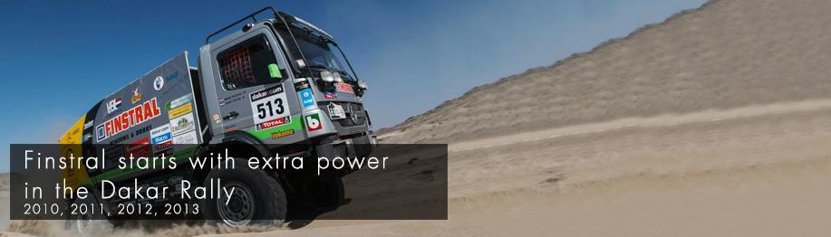 Finstral Paris Dakar 2013
