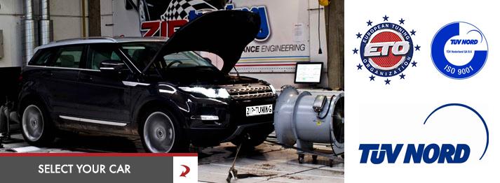 Chiptuning ZIPtuning Land Rover